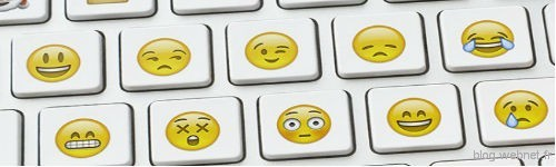 clavier emoticon 500x150
