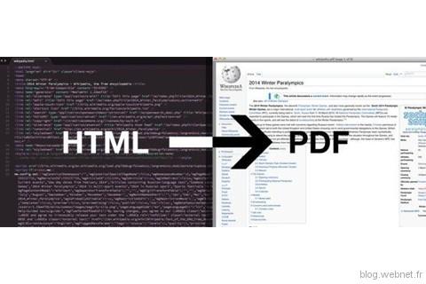 Convertir du HTML en PDF avec wkhtmltopdf – Le blog technique Webnet